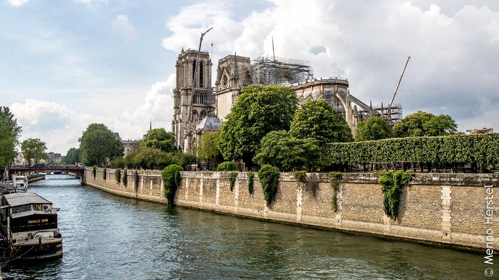 Parijs, Notre Dame, na de brand