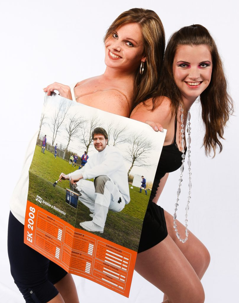 Fotografie van en voor FNV. Kalender voor EK voetbal